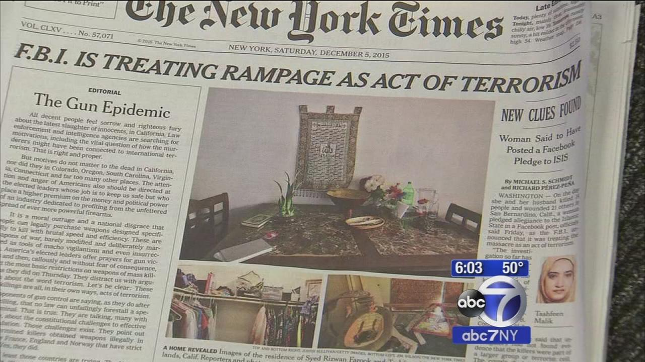 Politicians, newspapers have gun control debate after San