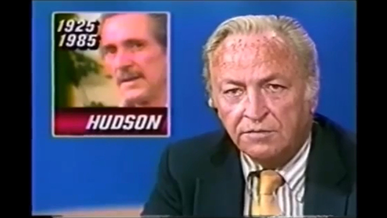 rock hudson dies 1985