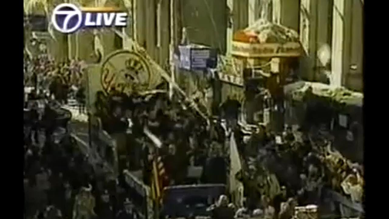 new york yankees world series 1996 parade