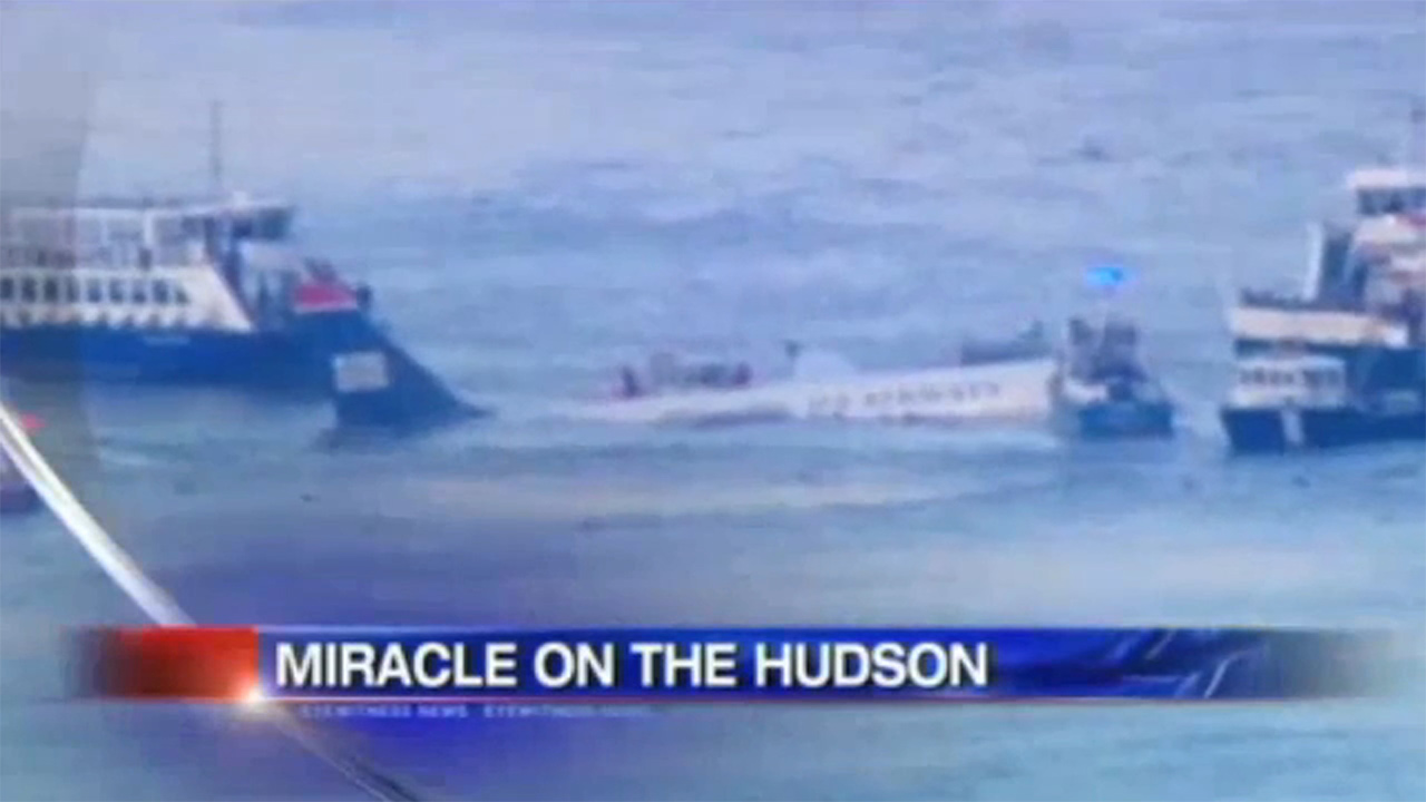 miracle on the hudson 1996 eyewitness news