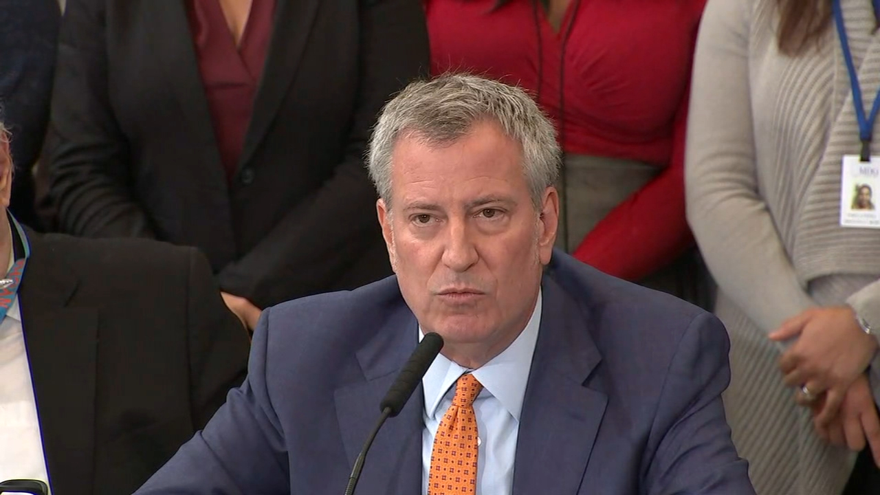 Mayor Bill de Blasio announced his plan to fix public housing in NYC