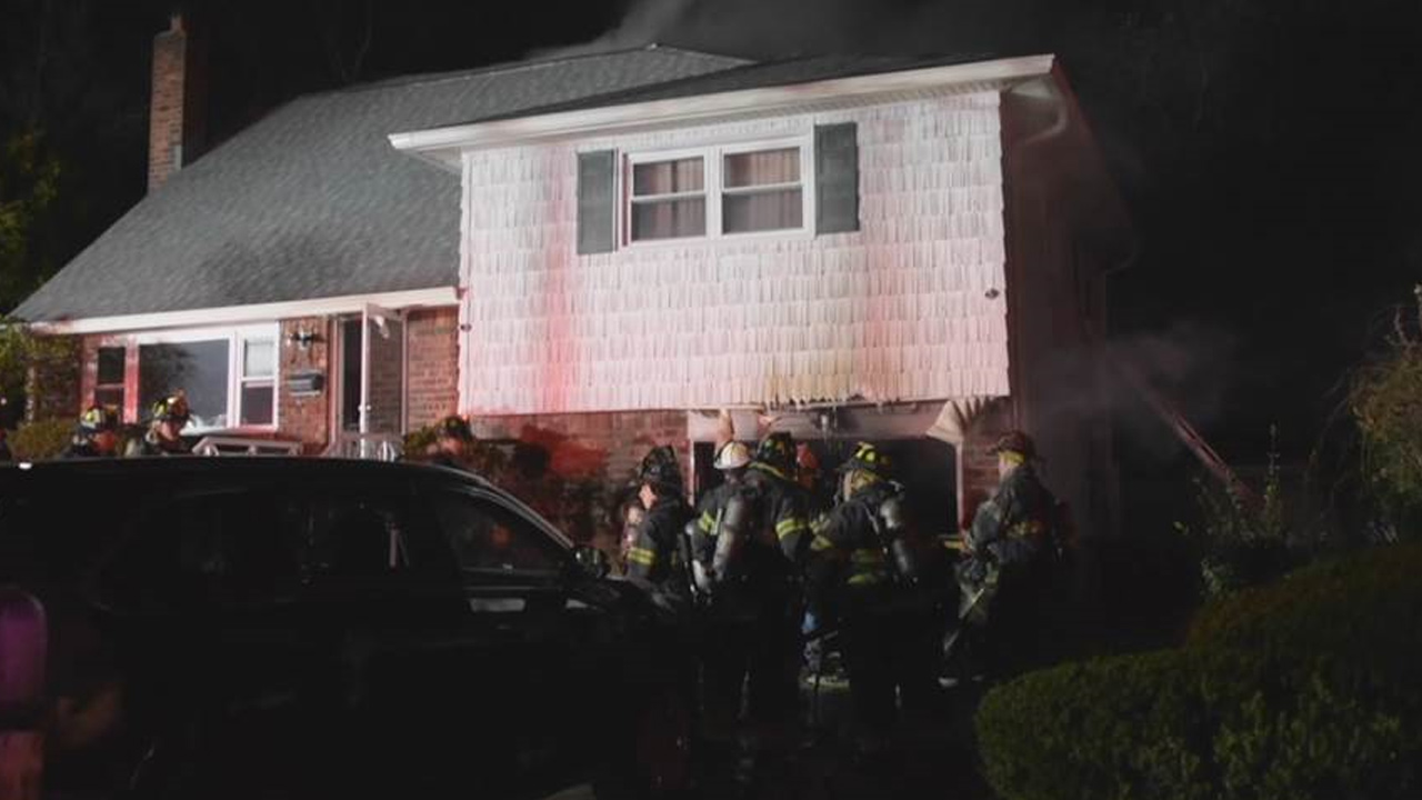 1 dead in Long Island house fire, 2 others escape burning home