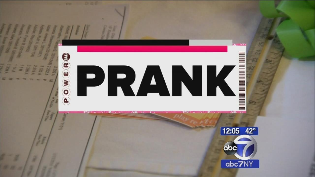 California nurse pranked by son, did not win Powerball
