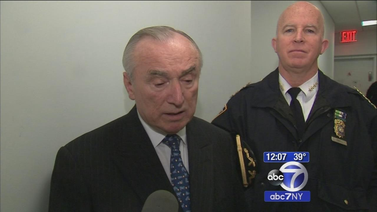 EXCLUSIVE: NYPD Commissioner thanks traffic officers