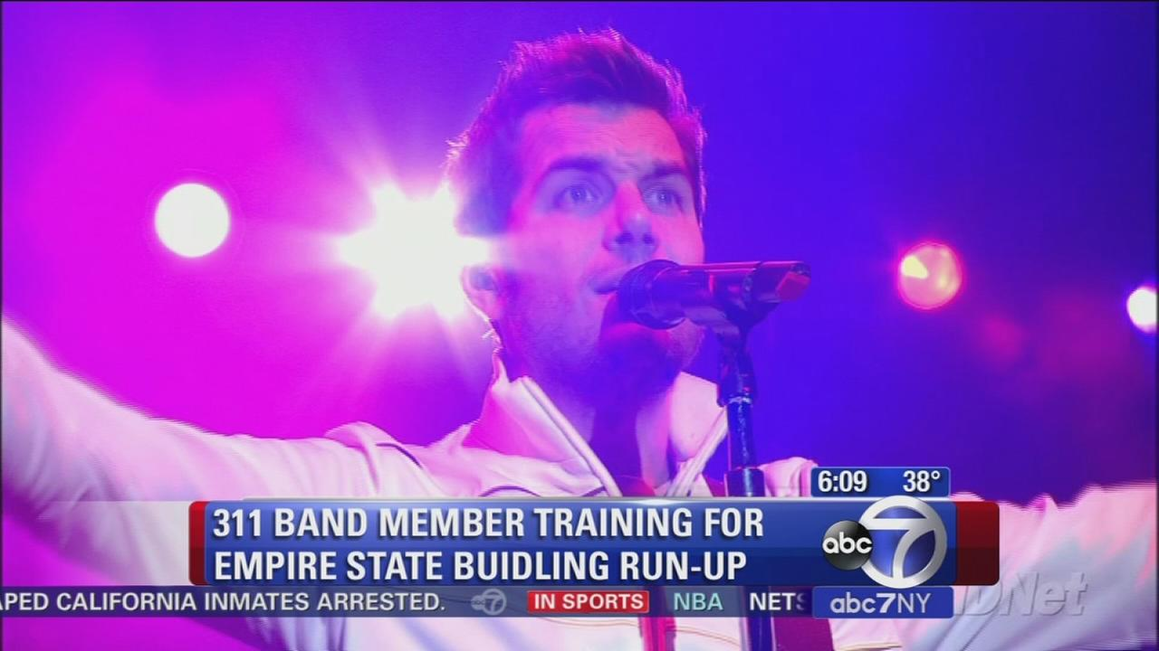 Rock star to participate in Empire State Run-up
