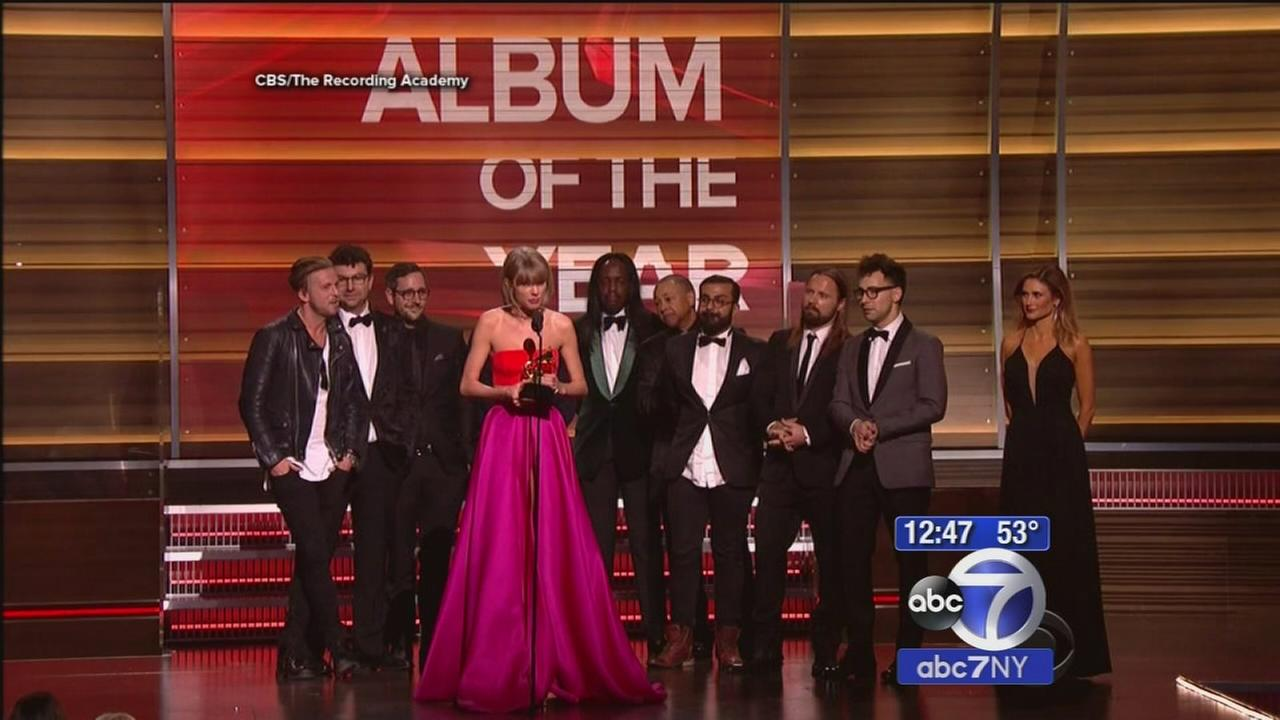 Music industrys best honored at Grammy Awards