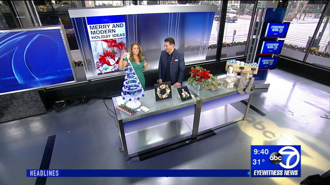 Lifestyle expert Francesco Bilotto joined us with some festive modern holiday ideas.