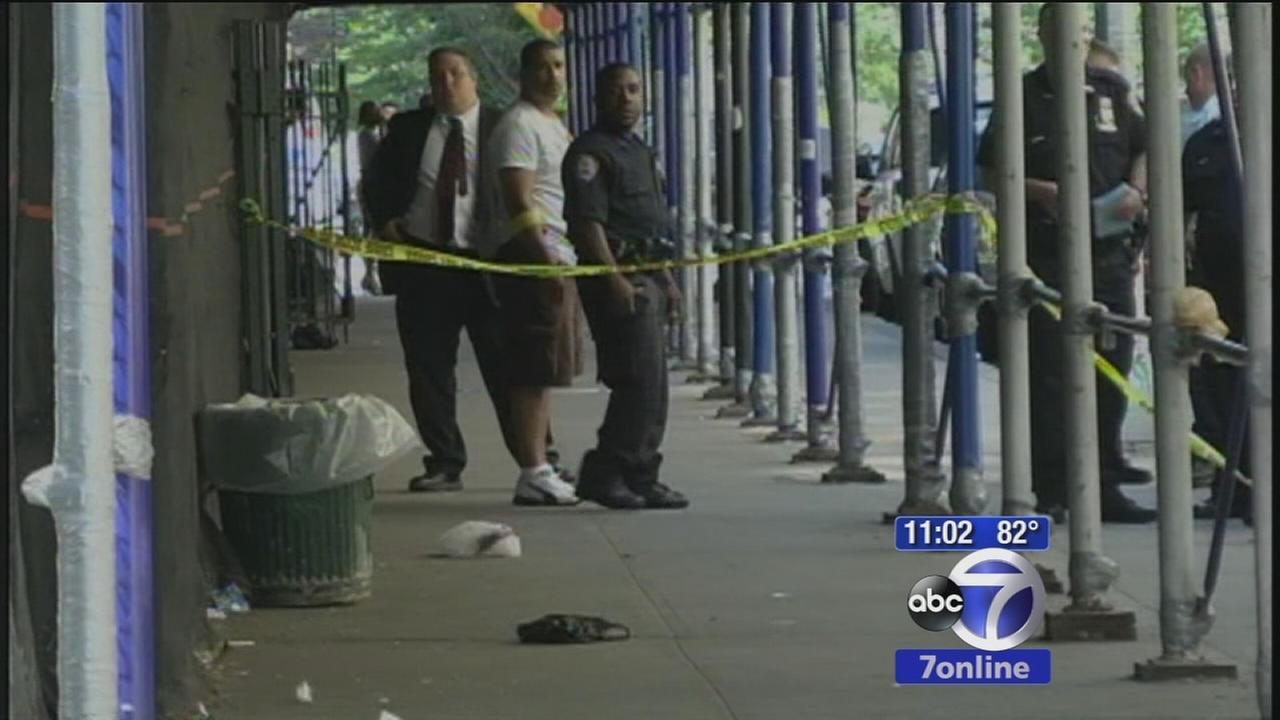 14-year-old in custody, accused of stabbing teen outside school