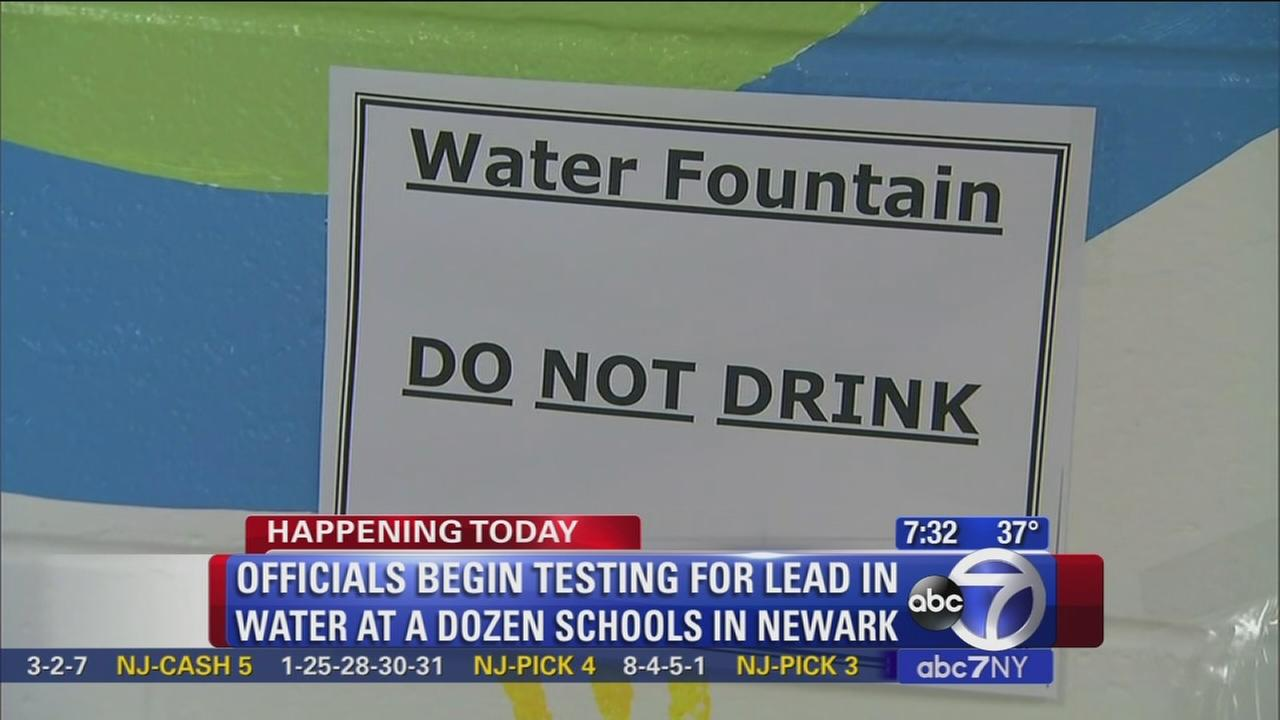 Water at Newark schools tested again
