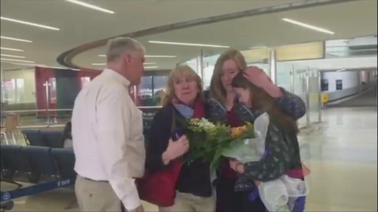 NJ native at Brussels airport during attack returns home