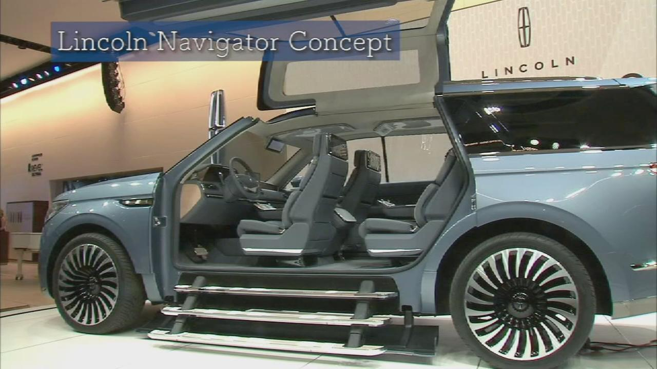 Concept Car Video Tour Lincoln Navigator Abc7ny Com