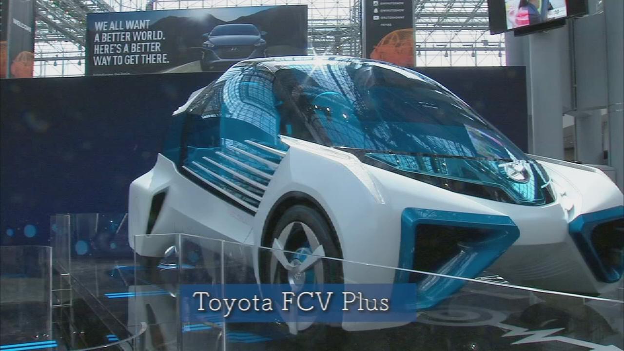 Car Show: Toyota hydrogen car