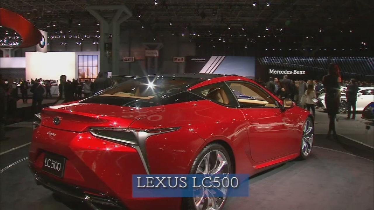 Auto show 2016: Lexus LC500