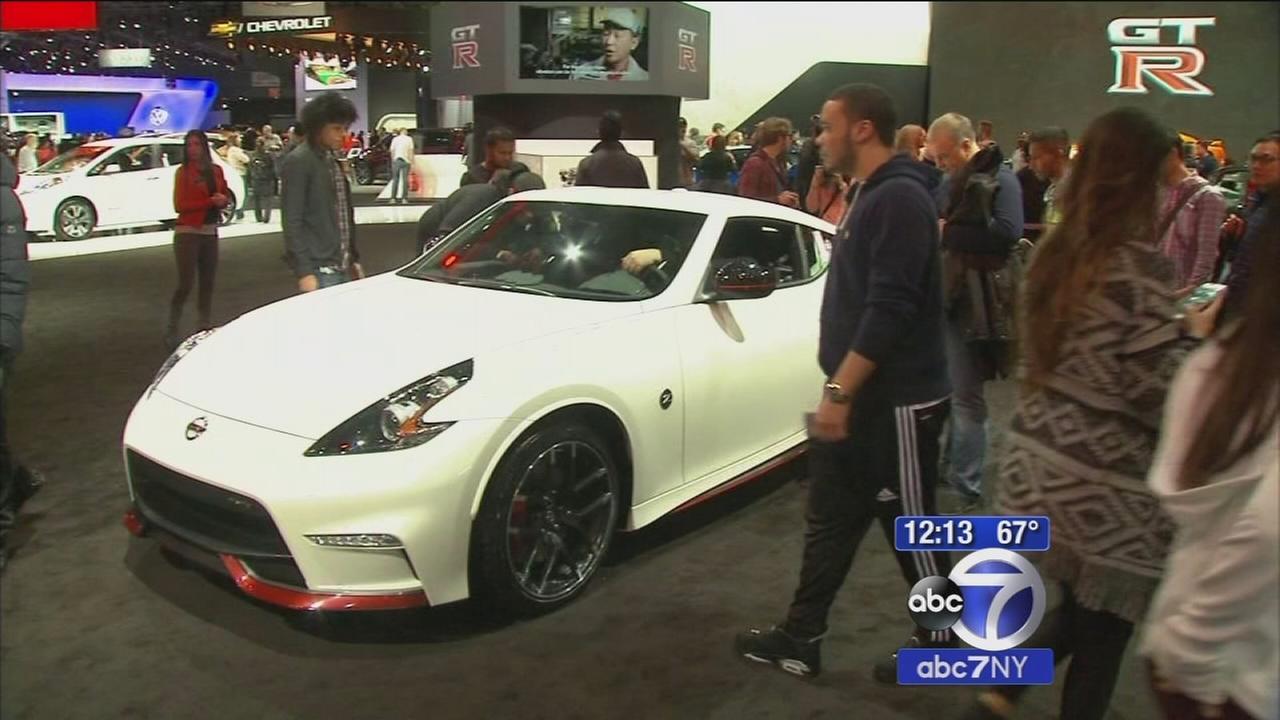 New York International Auto Show Kicks Off At Javits Center Abcnycom - Nyc car show javits center