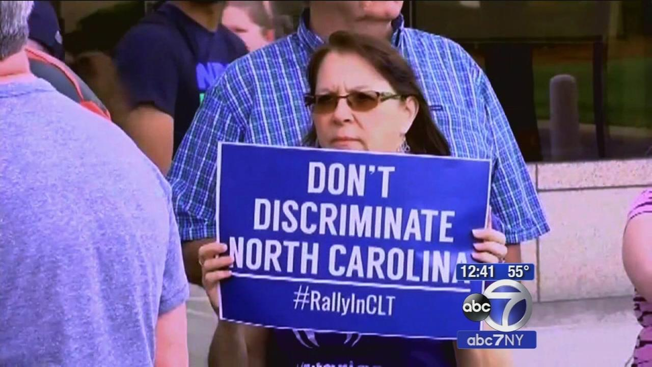 Firestorm over bathroom law in North Carolina