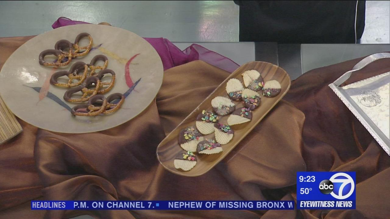 Chef Rossi of the Raging Skillet visits Eyewitness News