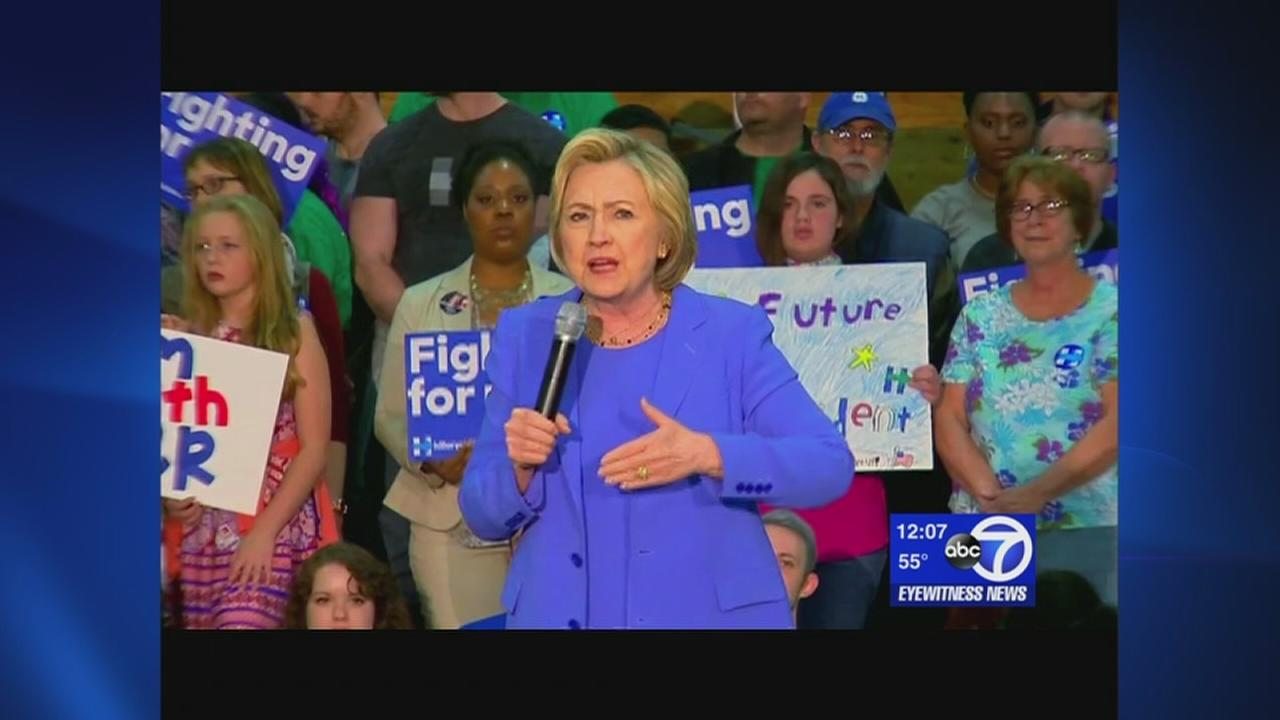 Clinton closing in on nomination
