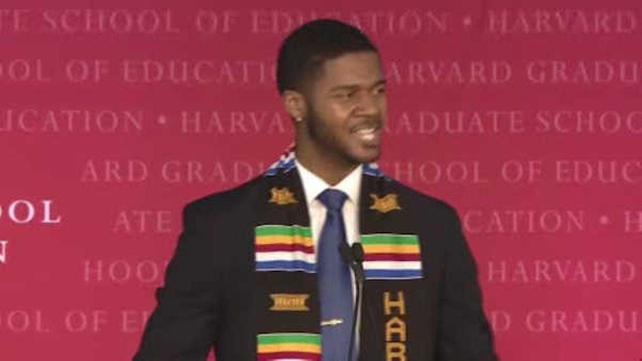 Former UNC student's graduation speech creates buzz