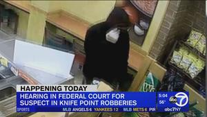Arraignment today for suspect in Long Island, Queens robbery