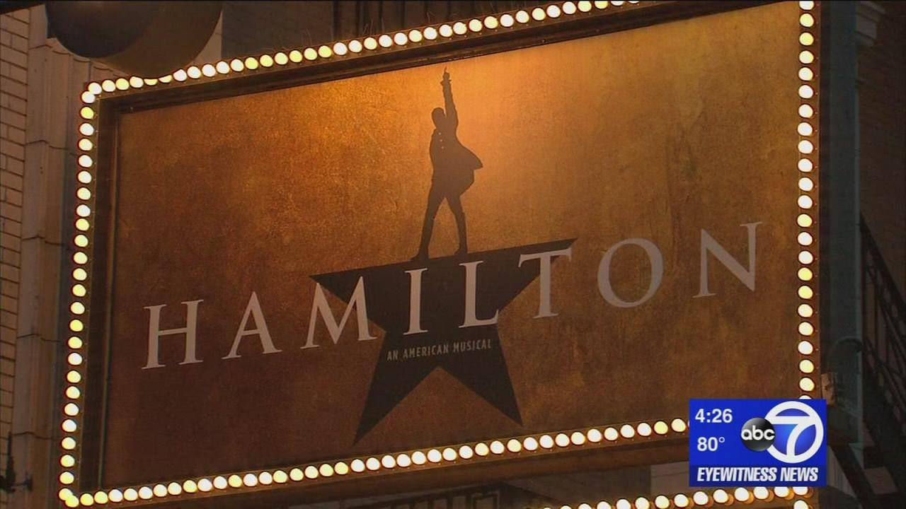 Broadway businesses reaping benefits of Hamilton success