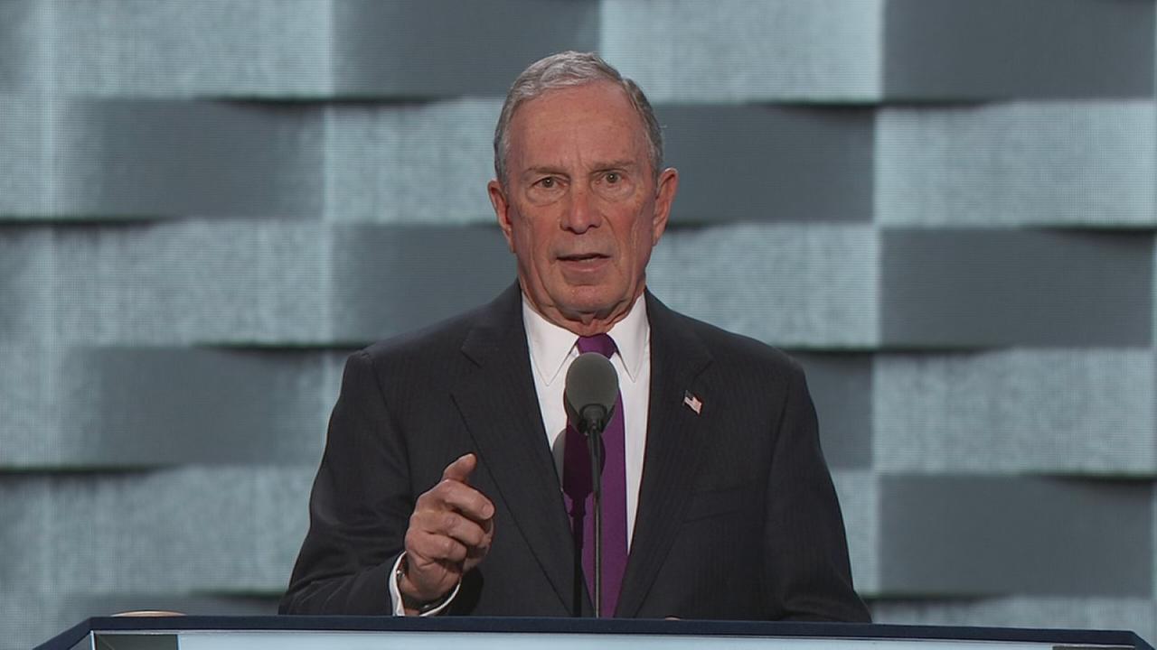 DNC: Michael Bloombergs speech