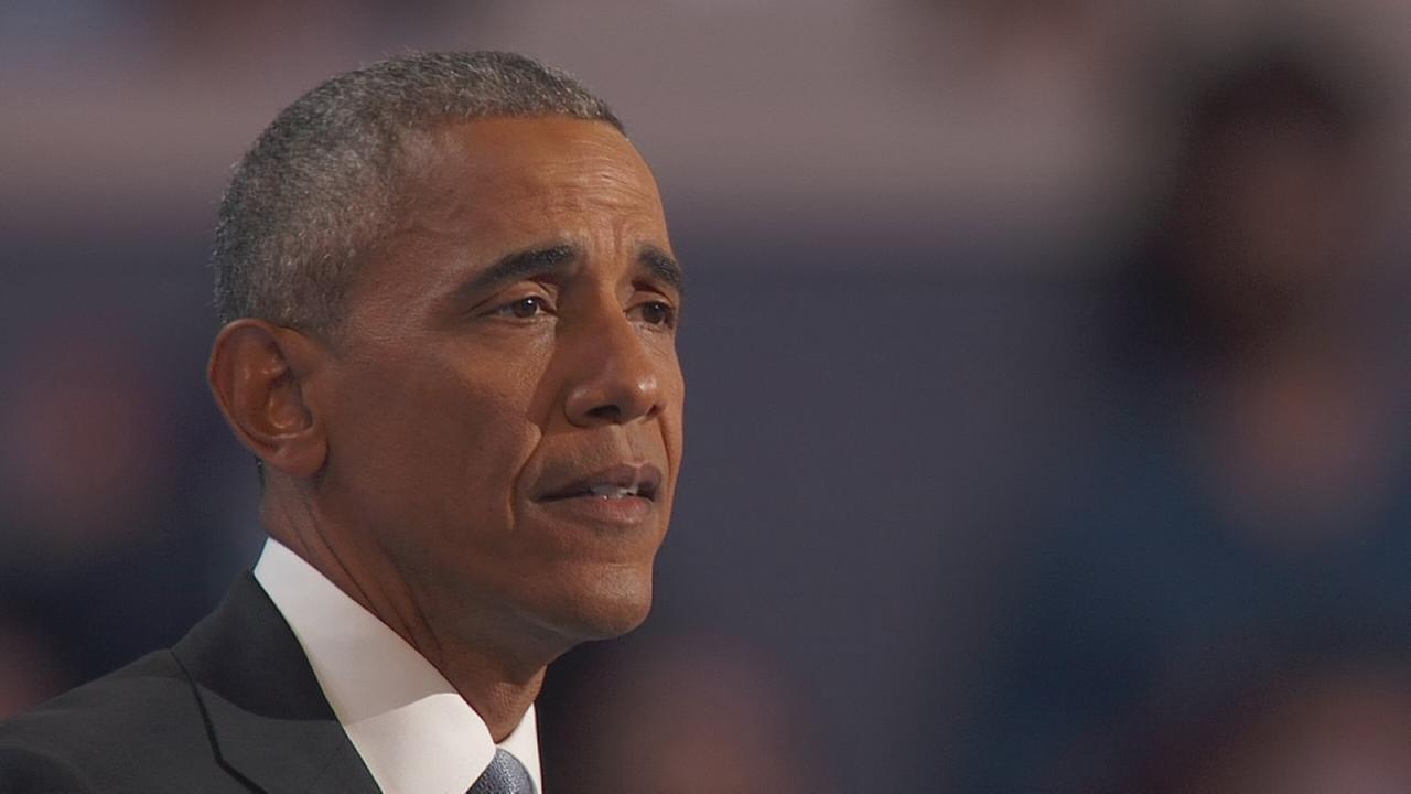 DNC: Obama tells peoples stories