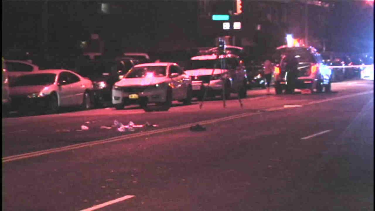 Police are looking for the driver of a van after a man was killed in a hit-and-run in the Bronx.