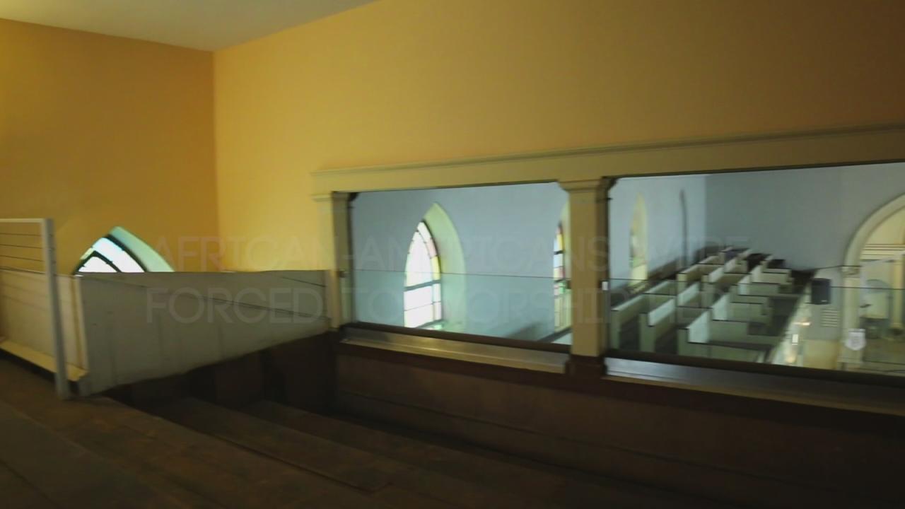 Slave galleries hidden in New York