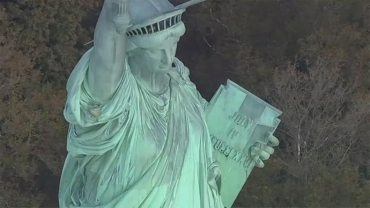 Statue of Liberty celebrates 130th birthday