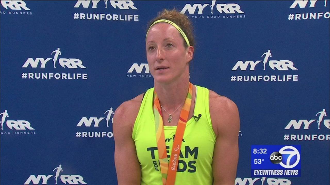 Paralympian Tatyana McFadden racing in NYC Marathon for a reason