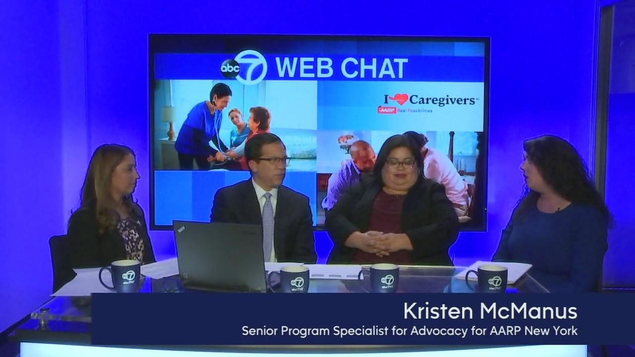 Web Chat Part 3: The CARE Act and family caregiving