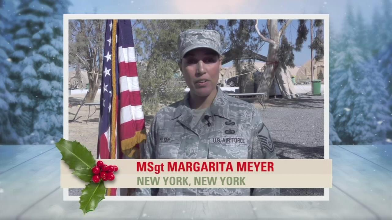 Troop Greetings: MSgt Margarita Meyer