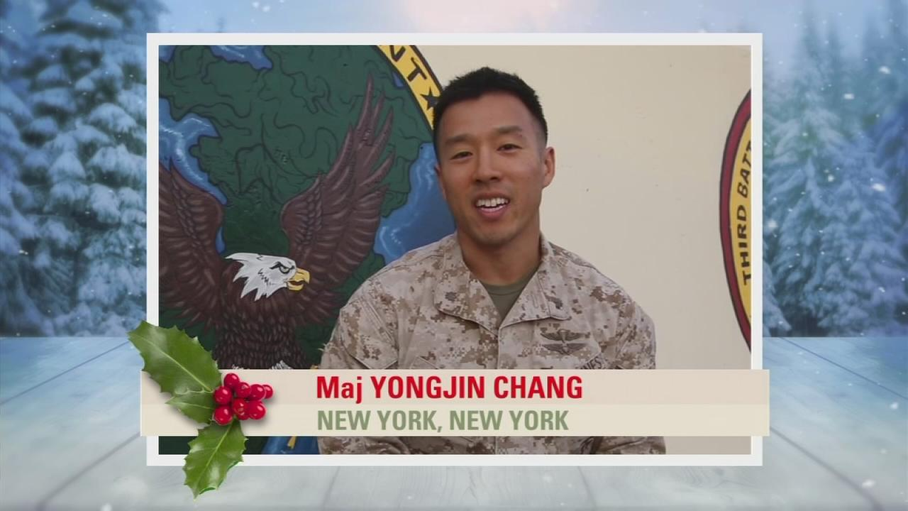 Troop Greetings: Maj Yongjin Chang