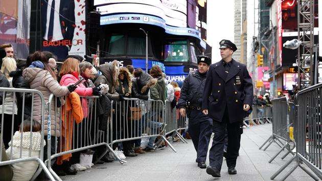 Unprecedented security planned for New Year's Eve in Times Square