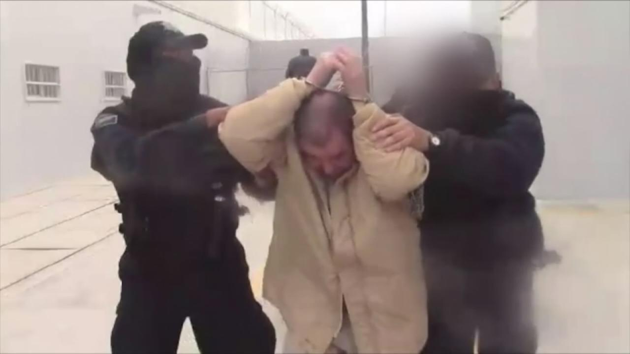 New video of El Chapo