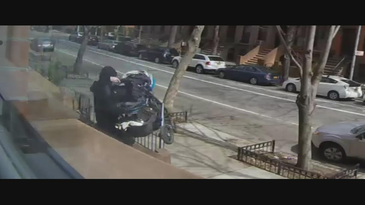 Stroller theft suspect arrested after allegedly being caught on camera