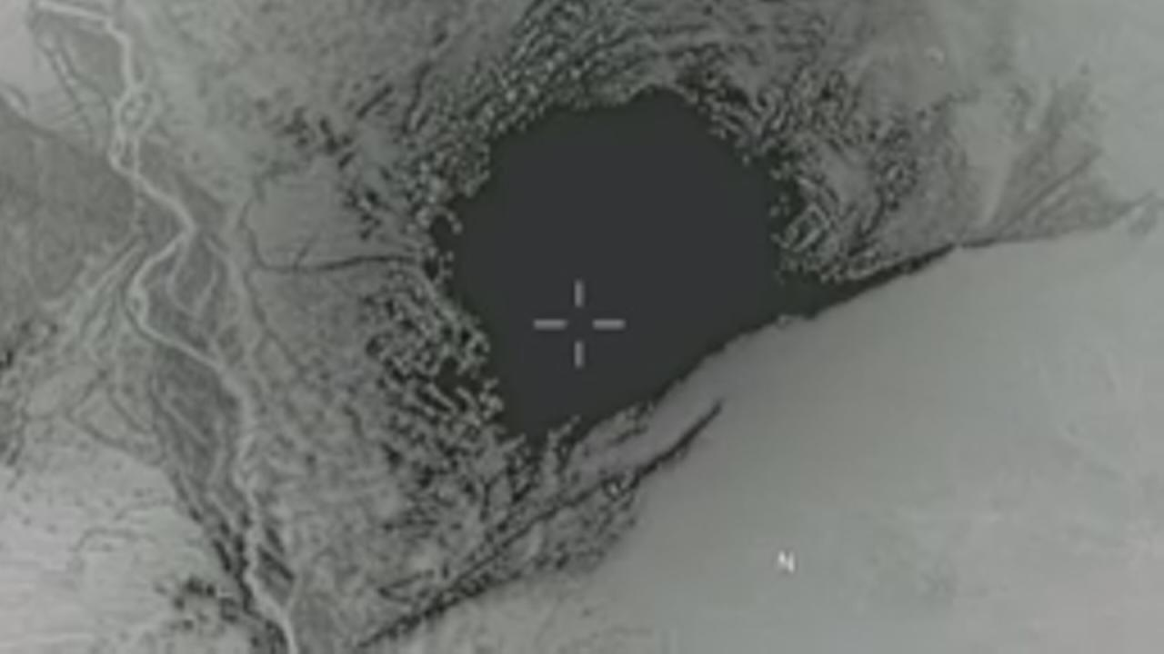 US bomb hits target in Afghanistan