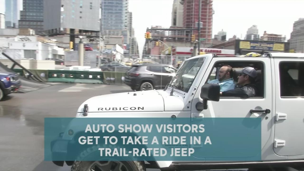 Visit Camp Jeep at the New York International Auto Show