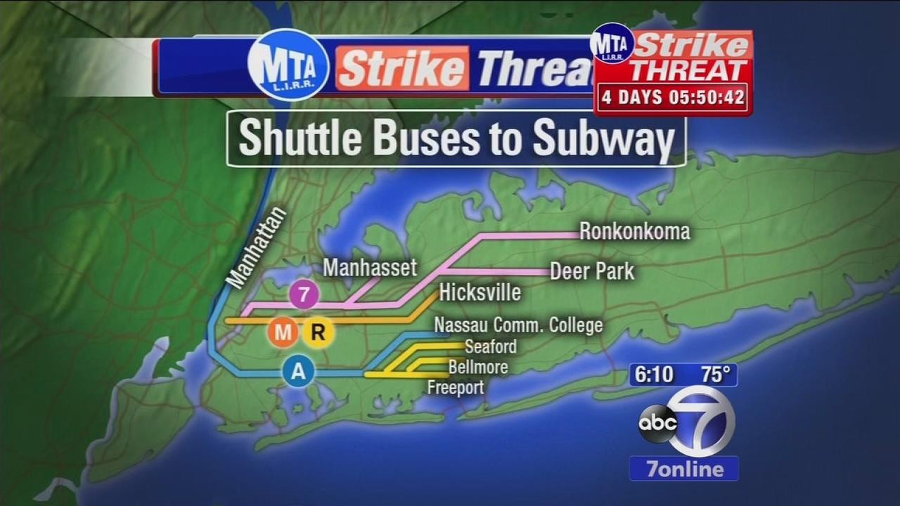 MTA prepares for LIRR strike