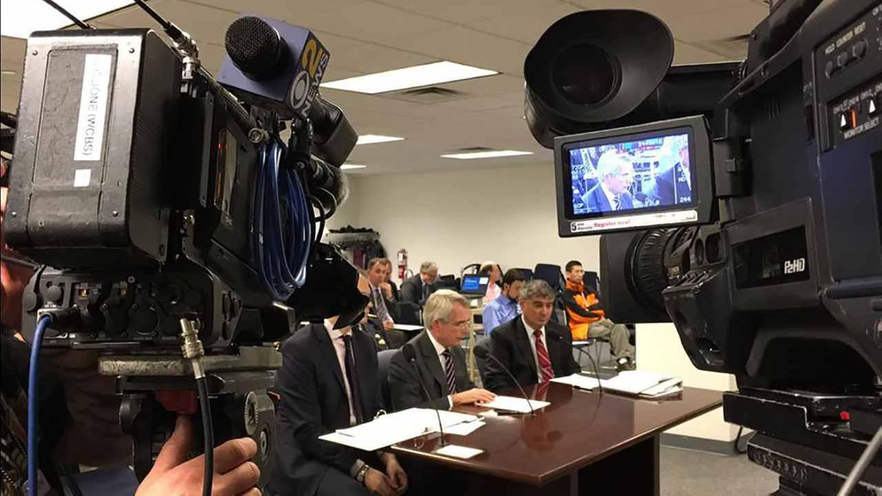 Rail representatives testify at a hearing on Penn Station woes.