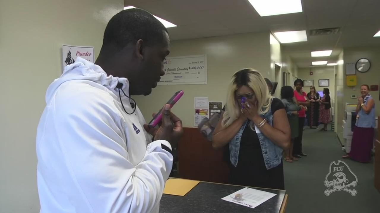 Mom gets great Mothers Day Surprise for her son