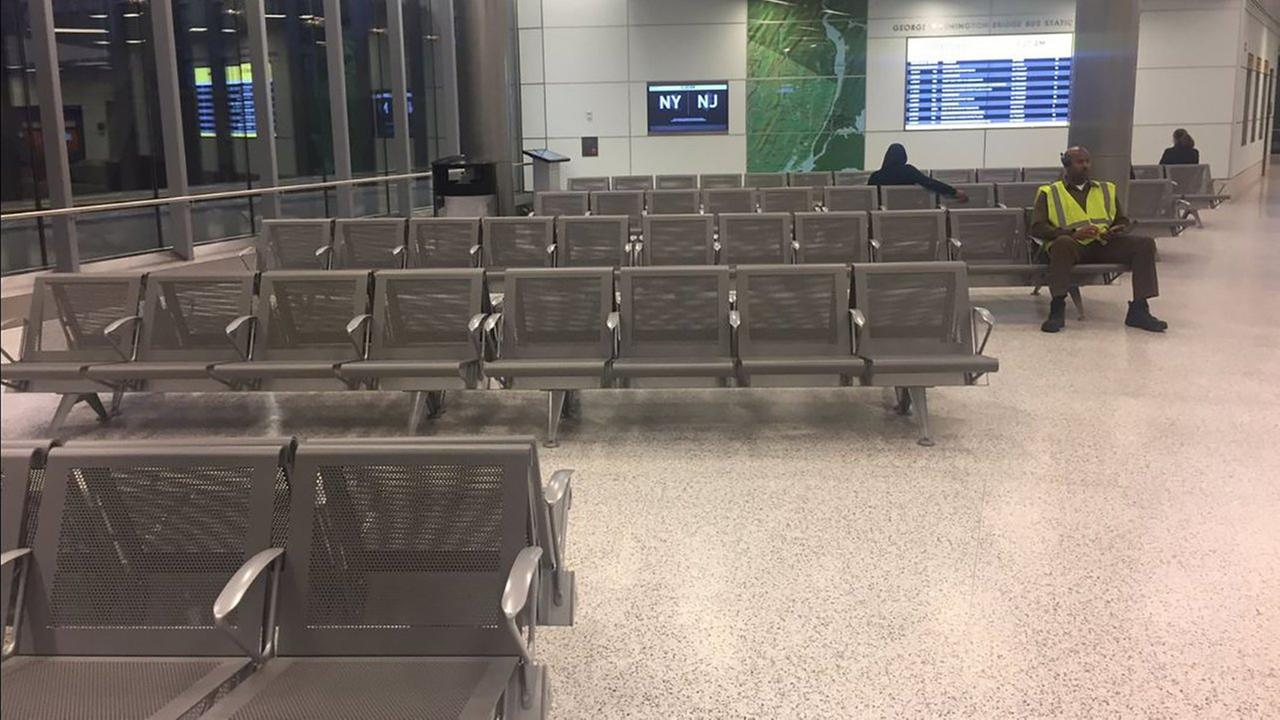 A look inside the new GWB bus station