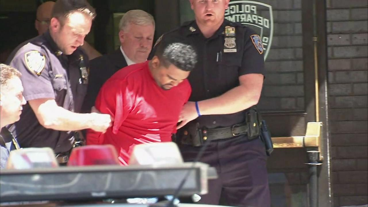 Raw video: Police walk driver after Times Square crash