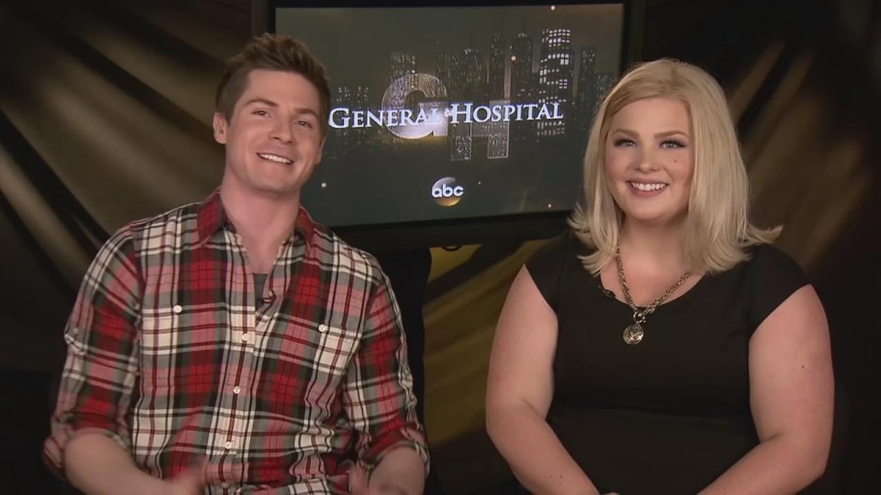 Robert Palmer Watkins and Risa Dorken talk about the GH Nurses Ball