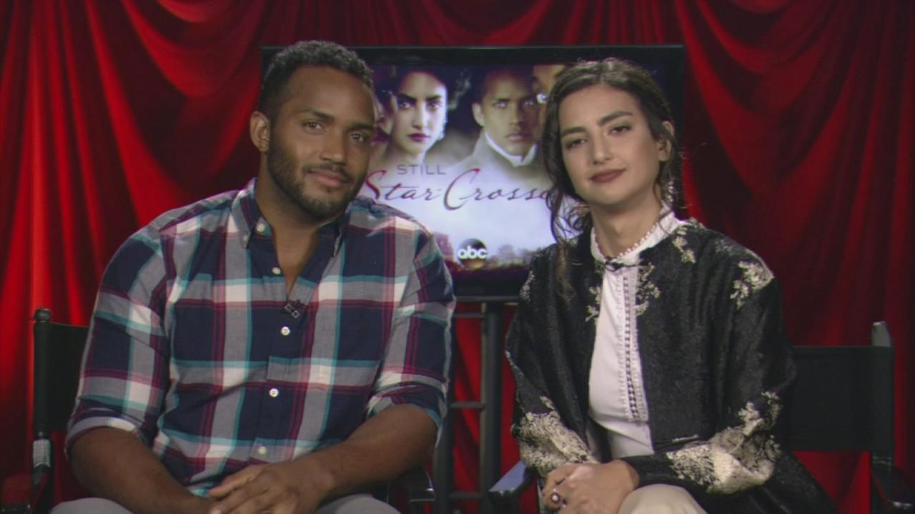 Stars of Still Star-Crossed describe their characters