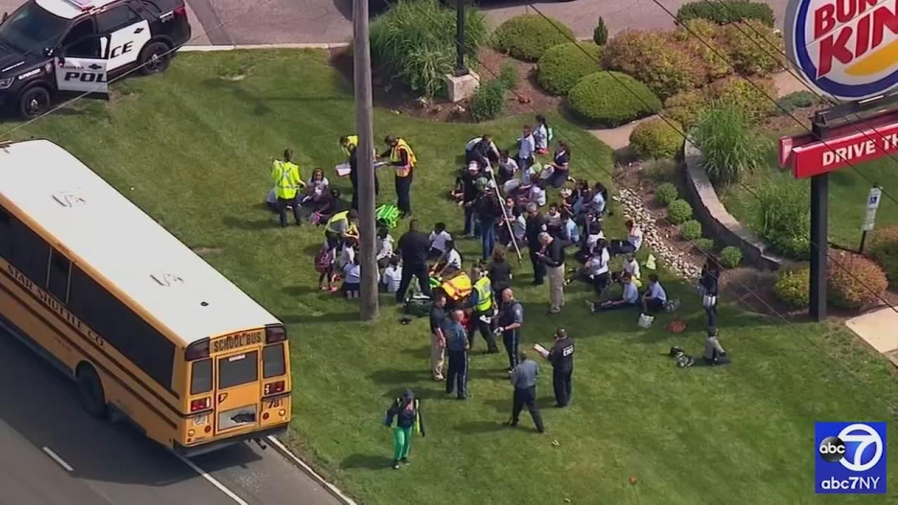 School bus accident in Mahwah, NJ
