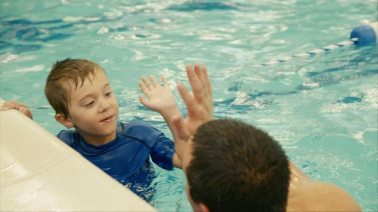 Above and Beyond: Swim safety program