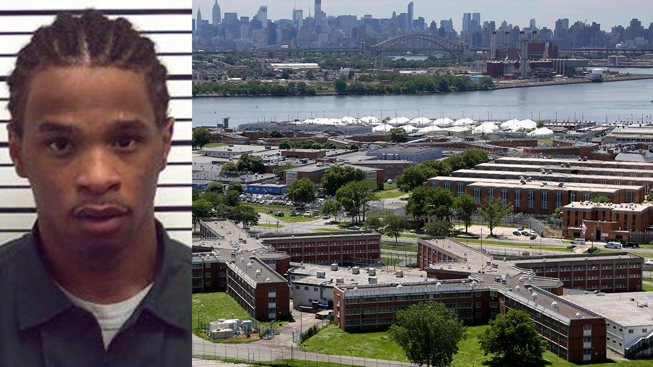 2 correction officers suspended after Rikers Island escape