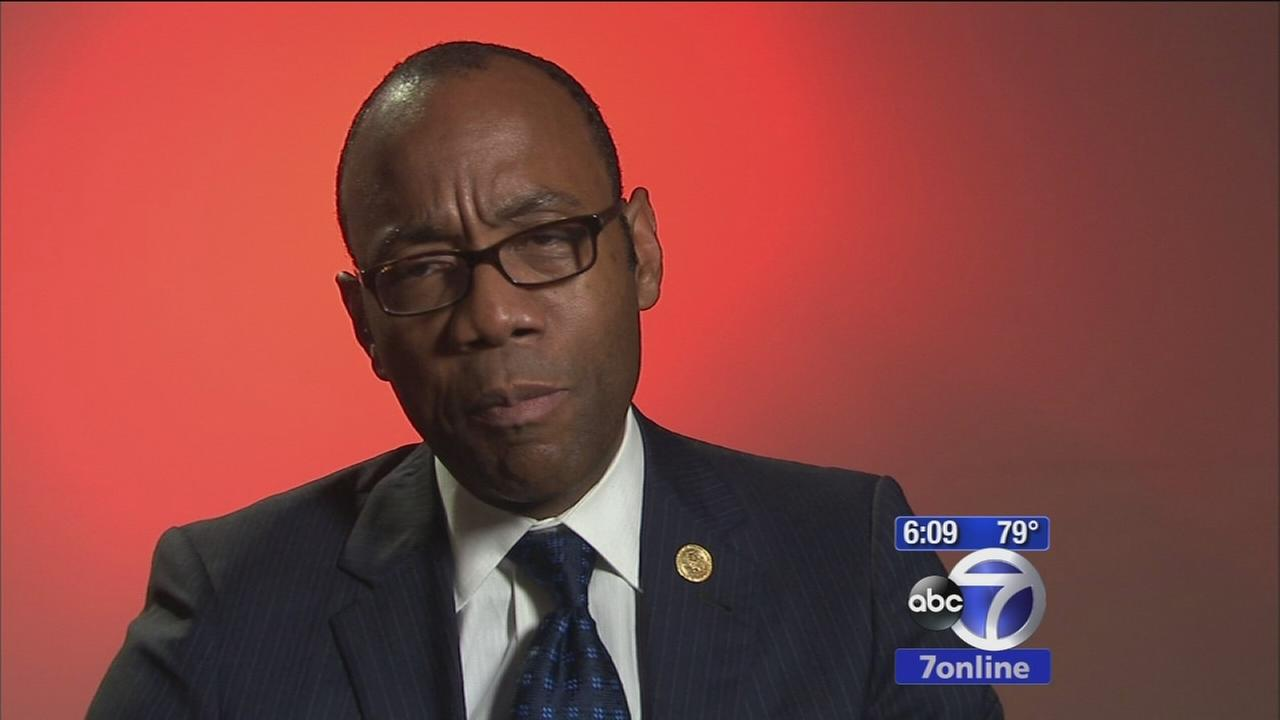 New NAACP President speaks to Eyewitness News