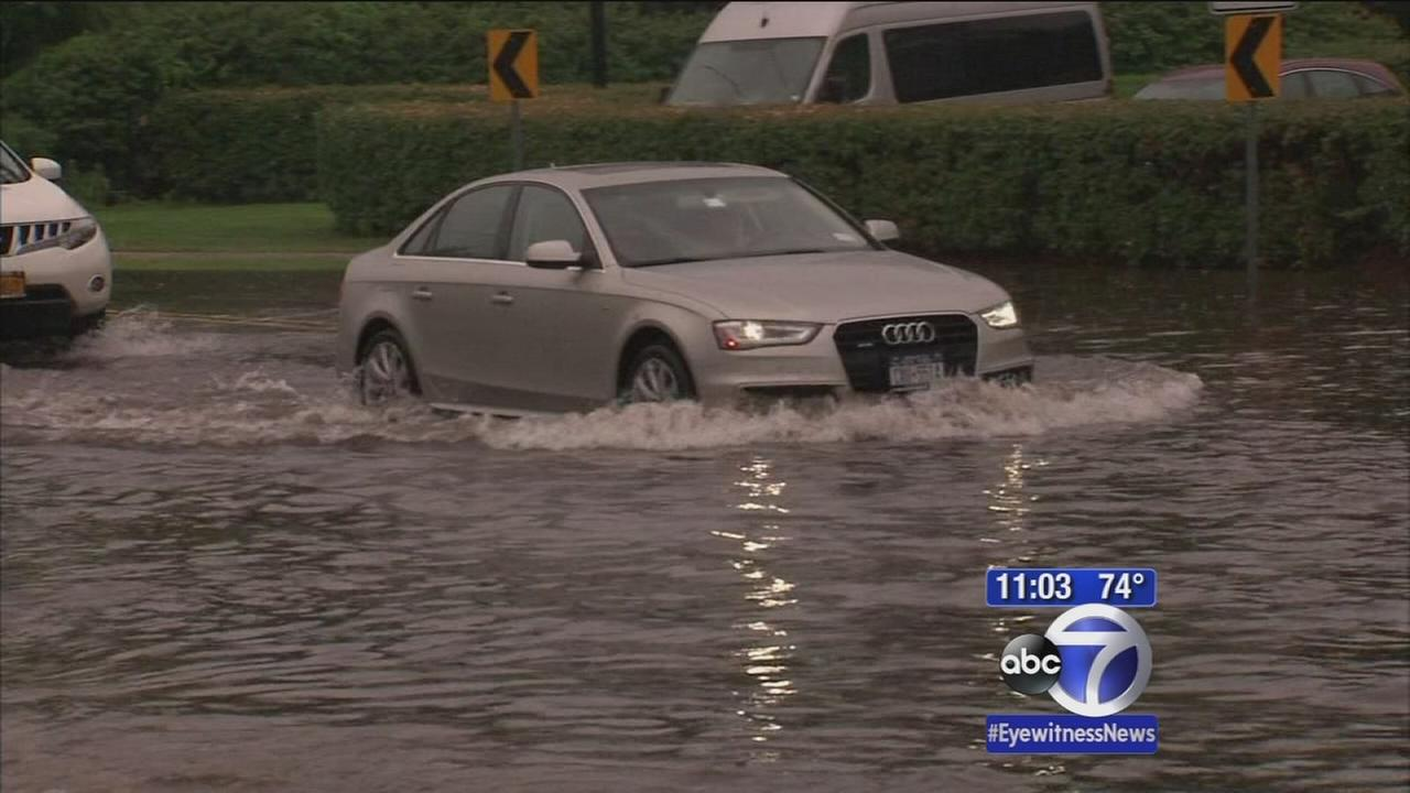 Severe flooding in Rockland and Bergen Counties